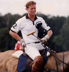 James Hewitt in 1991, former lover of Diana and very fetching. I wonder if he has fathered any children?