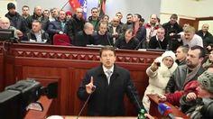 Начальник МВД Донецкой области выступил в Донецке