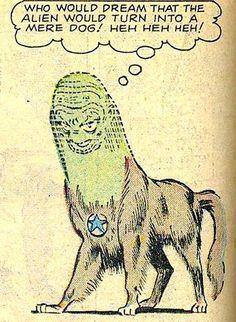 Alien dog!