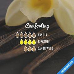 Comforting - Essential Oil Diffuser Blend #VanillaEssentialOilblends