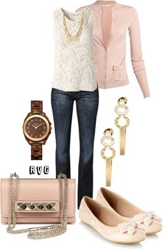"""On Wednesdays We Wear Pink"" by r-viviane16 on Polyvore"