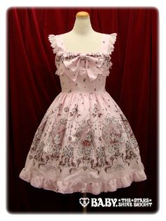 Cinderella Jewelry柄ジャンパースカートⅡ