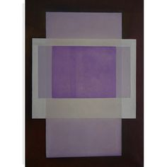 """PurperRechteck"" 095 x 065 cm oil on linen 2009"