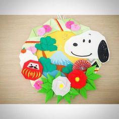 折り紙リースを作ろう〈リース土台編〉 – Handful[ハンドフル] Wordpress, New Years Decorations, Mother And Child, Origami, Snoopy, Fruit Salsa, Handmade, Crafts, Yahoo