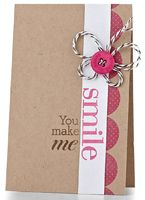 Butterfly Smile Card by @Maile Belles - supplies and instructions included