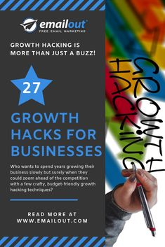 Growth hacking is more than just a buzz phrase. Our top 27 growth hacks for businesses are the essential element you need to expand your business. Free Email Marketing, Digital Marketing, Growth Hacking, Essential Elements, New Market, Hacks, Business, Top, Store