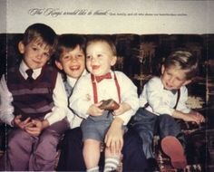Kings of Leon when they were miniature!