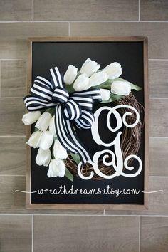 "18""-32"" Tulip Wreath. Year Round Wreath. Spring Wreath. Summer Wreath. Door Wreath. Grapevine Wreath. by WreathDreams on Etsy https://www.etsy.com/listing/285454233/18-32-tulip-wreath-year-round-wreath"