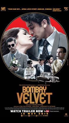 Bollywood Movie Bombay Velvet Wallpaper Wallpapers Also Available In Screen Resolutions