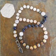 Selene Goddess of the Moon Prayer Mala Pagan Prayer Beads
