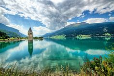Lake Resia South Tyrol Italy