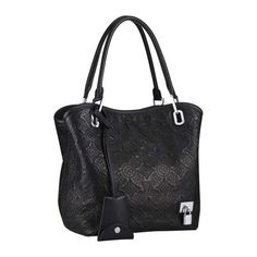 Louis Vuitton Antheia Leather Lilia PM M94149 Noir