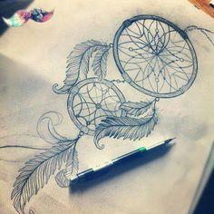 Dreamcatcher #love#drawing