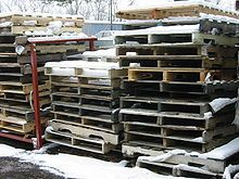 Problem with pallet crafts: Discarded wooden pallets should not be used for fire wood or crafts unless it has been determined that the wood in these pallets has not been treated with wood preservatives, fungicides and/or pesticides. Various pyrethrins and propiconazole are common treatments for wooden pallets. In addition, imported palletized goods are routinely fumigated with highly toxic pesticides. During use, harmful materials or chemicals also may spill on the pallet wood and be absorbed.