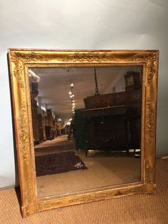 Antiques Atlas Large Arched French Gilt Frame Mirror In 2019