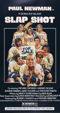 Directed by George Roy Hill. With Paul Newman, Michael Ontkean, Strother Martin, Jennifer Warren. A failing ice hockey team finds success using constant fighting and violence during games.