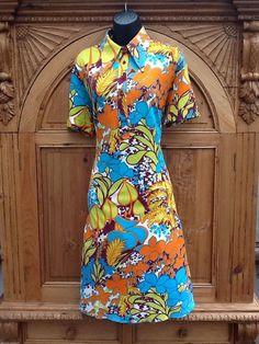 1970s Vintage St Michael Dress Size 16 - 18  £31.00 (9B)