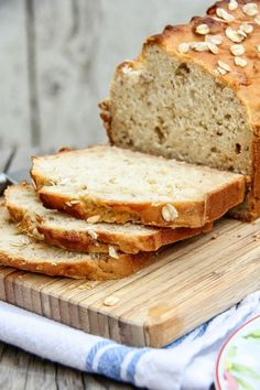 A homemade gluten-free honey oat bread recipe that requires no yeast or…
