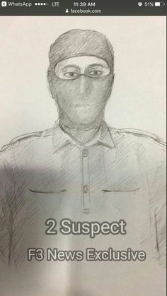 Sketch of one of 5 terrorists who infiltrated in Iran, Navi Mumbai.