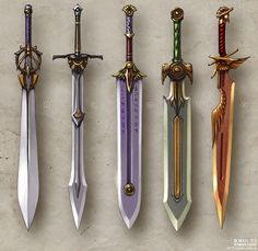 fantasy spear design - Google Search