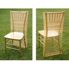 Ya Ya Embroidered Chair Slipcover
