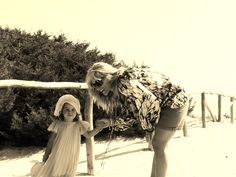 MOM and DAUGHTER'S OUTFITS: CHIC PORTO ROTONDO on www.fiammisday.com  fashion style mom daughter