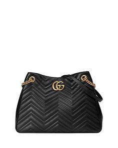 ed6903b271096 GG Marmont Matelassé Shoulder Bag Tote Handbags, Purses And Handbags, Gucci  Handbags, Designer