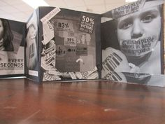 Social Issue Accordion Book