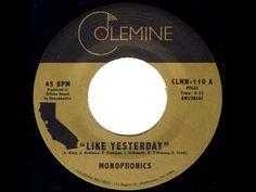 "Monophonics - ""Like Yesterday"" - Soul Funk 45"