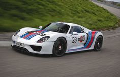 Porsche 918 Spyder Prototype Martini Racing