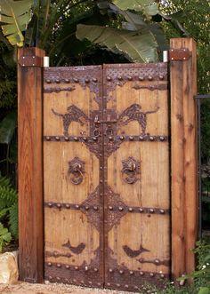 Beautiful gate from Grace Design Associates Inc.