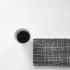 Moa og kaffekoppen - DIY patterned board
