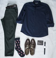 Today's outfit !  Click on the image to see my guide on how to build a wardrobe. It's all about men's fashion !!