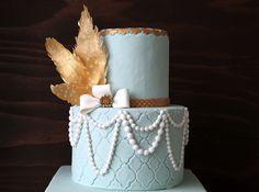 Great Gatsby Cake - Style Sweet CA