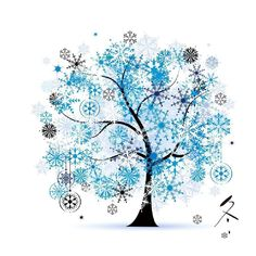 Image result for colorful tree painting