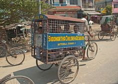 The school bus in Nepal! By Alistair Duncan