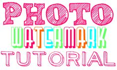 Creating a Watermark with Microsoft Publisher (she: Natalie) - Or so she says...