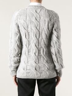 Carven Cable Knit Sweater - Biffi - Farfetch.com