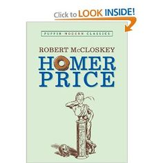 Homer Price (Robert McCloskey) (must get this one first!)