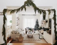 a warm holiday green to fill your home by @ruffledsnob on Instagram