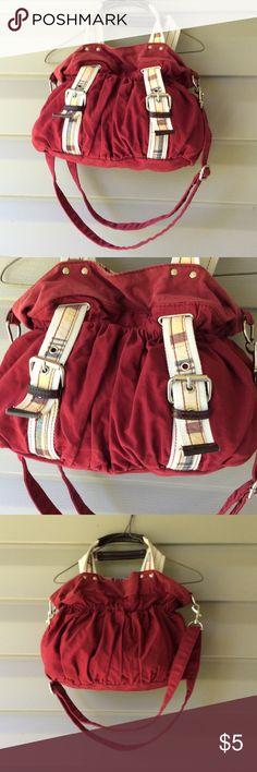 Pocketbook Red pocketbook Hobo..faded red. Bags Hobos