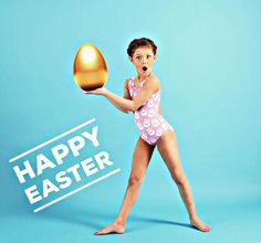 Hope you're having a #goldenegg of a day!✨ @emelia_singleton5678 @foxysleotards • #foxysleotards #happyeaster