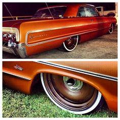 Instagram photo by @Mobsteel Adam Genei via ink361.com Detroit Steel Wheels, Rims And Tires, Eugene Oregon, Low Rider, Bentley Continental, Chevy Impala, Bel Air, Geisha, Old Cars
