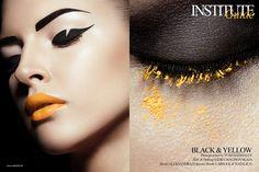Makeup Lidija Malinovskaja, photo Yuri Hahhalev for Institute magazine