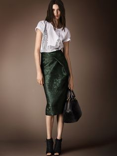 Spring 2014 has not arrived yet but we have a trend for Fall 2014 already :-/ Trend To Try: Dress Up A Graphic Tee