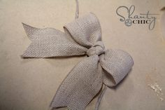 Bows for picture frame