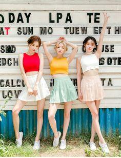 Fresh Color Cropped Top | Korean Fashion #chuu
