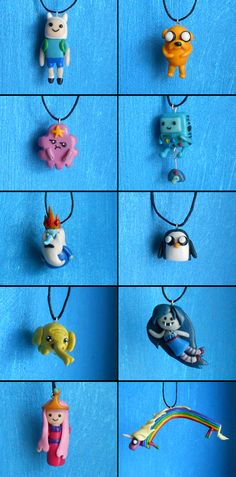 ADVENTURE TIME FIMO by rorabi