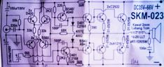 power amplifier circuit with sanken using a booster 8 sets sanken and the buffer using transistor and as much 2 sets Class D Amplifier, Audio Amplifier, Diy Subwoofer, Circuit Diagram, Used Parts, Electronics Projects, Electronic Circuit, Circuits, Solomon