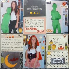 Halloween scrapbook page project life Seasonal Snapshot by Stampin' Up!